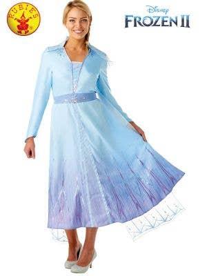 Frozen 2 Deluxe Women's Queen Elsa Fancy Dress Costume