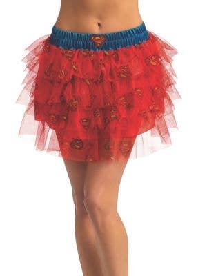 Officially Licensed Women's Supergirl Sequin Costume Skirt