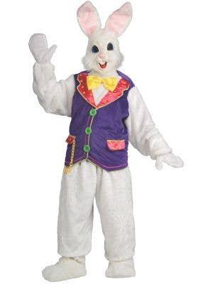Easter Bunny Deluxe Adult's Mascot Fancy Dress Costume