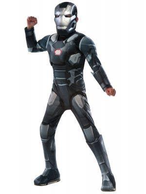 Marvel Comics War Machine Boys Fancy Dress Costume