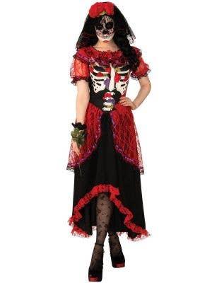 Day of the Dead Senorita Women's Fancy Dress Costume