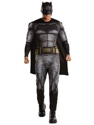 Dawn of Justice Batman Muscle Chest Men's Costume Front View