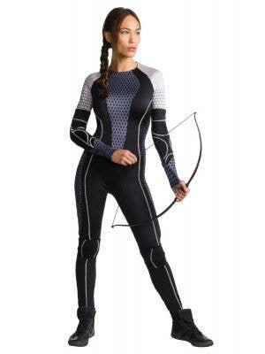 Women's Katniss Everdeen Hunger Games Fancy Dress Costume