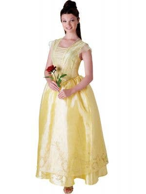 Deluxe Women's Disney Princess Belle Beauty and the Beast Costume