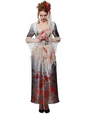 Bloody Hands Dress Women's Halloween Costume