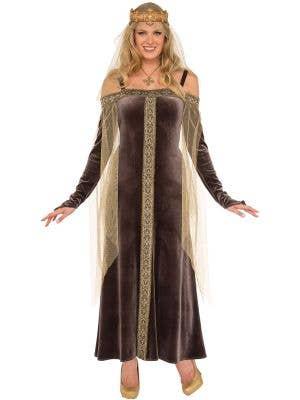 Medieval Women's Lady Grey Princess Costume