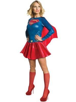 Justice League Women's Supergirl Fancy Dress Costume
