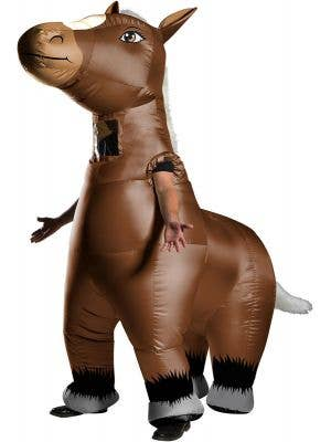 Mr Horsey Adult's Funny Inflatable Animal Costume