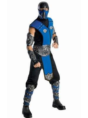 Sub-Zero Mortal Kombat Men's Gaming Character Costume