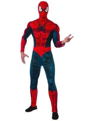 Spiderman Men's Marvel Licensed Costume Main Image