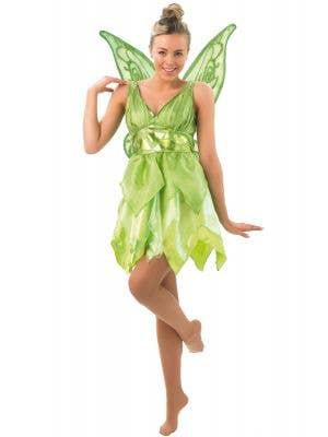 Women's Sassy Tinkerbell Peter Pan Disney Costume Main Image