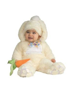 Plush White Easter Bunny Infant Costume