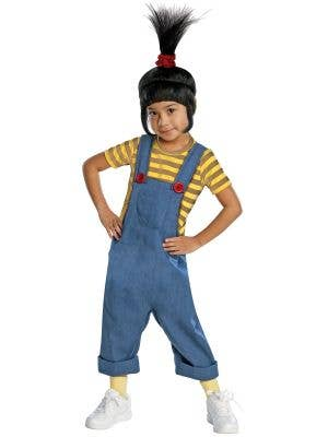 Girl's Despicable Me Agnes Costume Front View