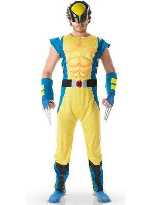 Wolverine Men's Superhero Fancy Dress Costume - Main Image