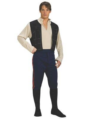 Men's Star Wars Han Solo Fancy Dress Costume - Main Image