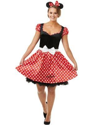 Women's Minnie Mouse Disney Book Week Fancy Dress Costume