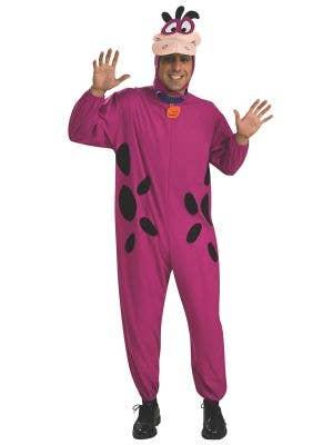 Flintstones Adult's Dino Dinosaur Costume Onesie