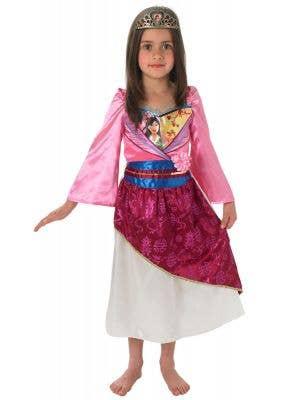 Mulan girls Disney princess book week fancy dress costume