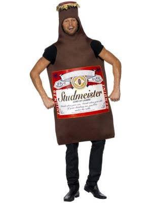 Studmeister Beer Bottle Adult's Funny Dress Up Costume