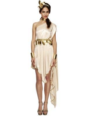 Golden Goddess Sexy Women's Roman Costume