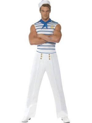 Fever Men's Sexy French Sailor Fancy Dress Costume