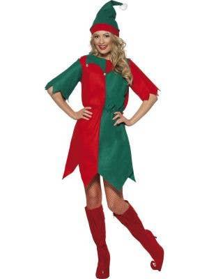 Christmas Elf Women's Budget Costume