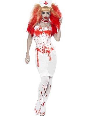 Blood Drip Nurse Women's Halloween Costume