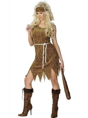 Crazy Cavewoman Women's Costume
