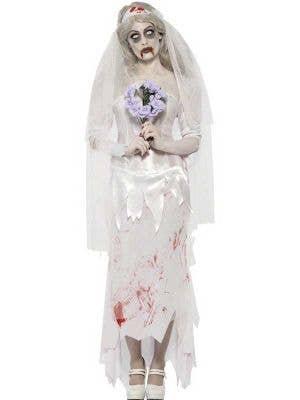 Womens Dead Bride Halloween Costume - Main Image