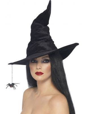 Classic Pointy Black Witch Hat