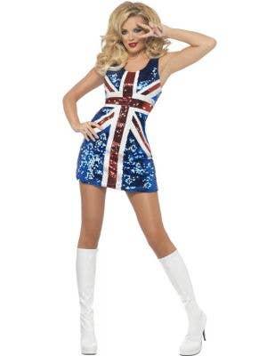Rule Britannia Sexy Women's Fancy Dress Costume