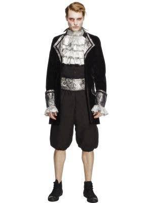 Men's Gothic Vampire Halloween Costume Main Image