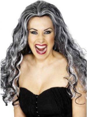 Renaissance Halloween Vamp Costume Wig