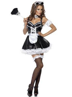 Flirty French Maid Women's Sexy Costume