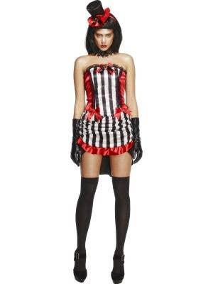 Burlesque Vampire Sexy Women's Halloween Costume Front View