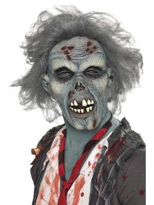 Decaying Zombie Latex Halloween Mask