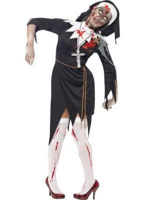 Bloody Sister Mary Women's Halloween Zombie Costume