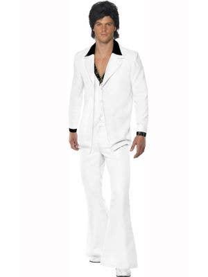 Men's 70's Disco Suit Men's Costume Main Image