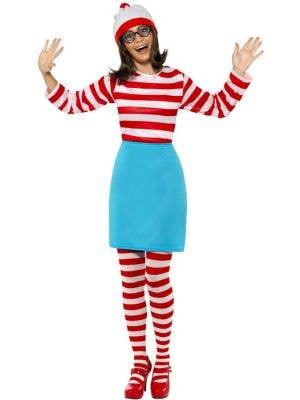 Where's Wally Women's Wenda Fancy Dress Costume