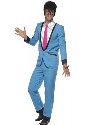 Heartthrob Teddy Boy Men's Blue 1950's Costume