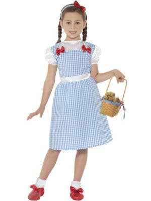 Wizard of Oz Girl's Dorothy Costume Front View
