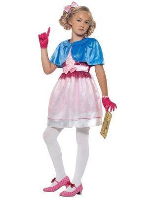 Girls Veruca Salt Willy Wonka Roald Dahl Book Week Costume Front Image