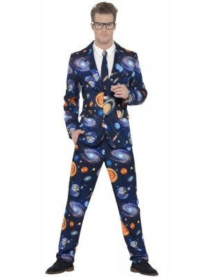 Smiffys Men-s Space and Planet Stand Out Costume Suit - Main Image