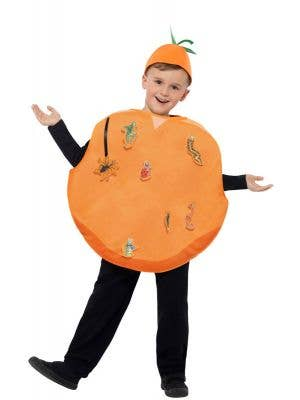 James and the Giant Peach Kids Orange Peach Costume