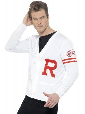 Men's Grease Rydell High Jock Fancy Dress Costume Main Image