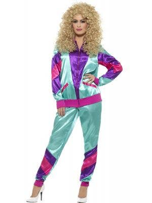 Height of 80s Shell Suit for Women - Front