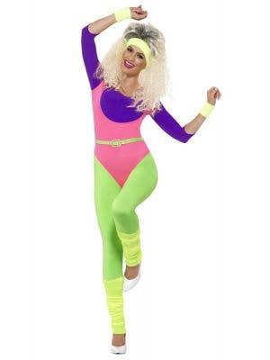 Aerobic Instructor 70s Fashion for Women Costume - Main Image