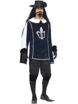 Musketeer Men's French Fancy Dress Costume