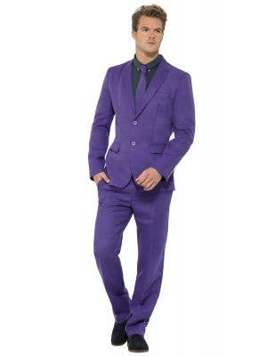 Deluxe Men's Bright Purple Suit from Stand Out Suits Image 1