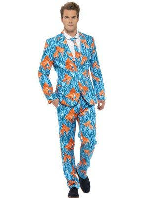 Goldfish Novelty Men's Stand Out Suit Costume